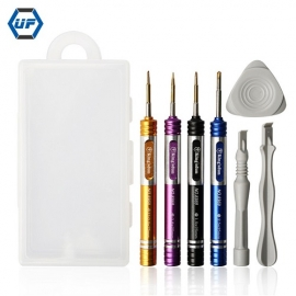 中国7支手机维修工具套装Pentalobe Phillips Tri wing Drivers Screwdriver Set for iPhone 6 7 8 X工厂