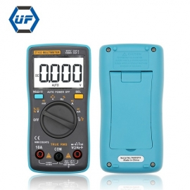 China Auto Range 600V 10A Mini Pocket AC DC TRUE RMS Digital Multimeter Temperature Testing factory