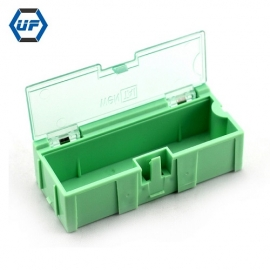 China HOT Sale Mini Multifunction Building Block Light Green SMD Components Storage Box-2# Green factory