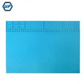 China KS-630017 Silicone Heat Resistance Repair Work Mat for repairing phone consumer electronic factory