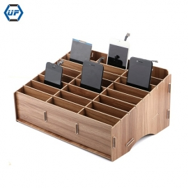 China Kingsdun Cell Phone Repair Tool Box Wood Storage Box Cellphone Motherboard LCD Screen Storage Box Hardware Accessories factory