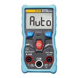 China Kingsdun automatic calibration current measurement AC DC voltage current ohm continuity NCV intelligent digital multimeter factory