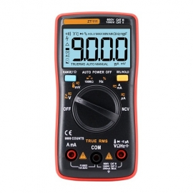 China Kingsdun high-precision automatic range portable automatic digital multimeter 9999 count multimeter factory
