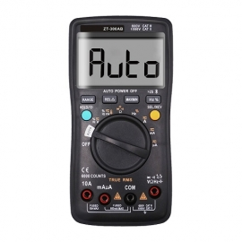 China ZT-300AB automatically recognizes Bluetooth multimeter AC DC voltmeter 6000 word high precision tester factory
