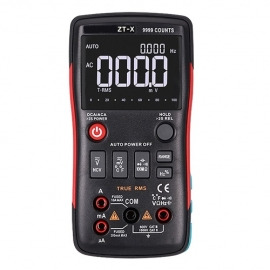 China ZT-X high-definition display measuring instrument key-type digital multimeter for frequency, voltage, temperature measurement factory